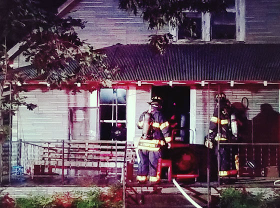 Family escapes Father's Day fire