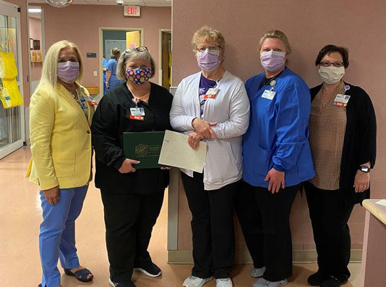 MRH nurse honored with DAISY award