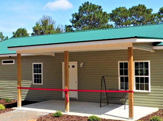 Turning Point Church builds home for family whose house burned down