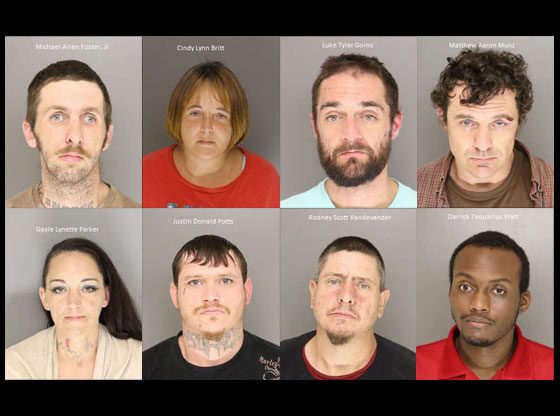 Drug investigation nets 8 arrests