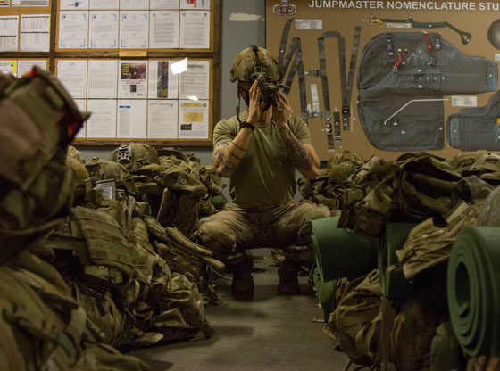 Paratroopers deploy to the Joint Readiness Training Center