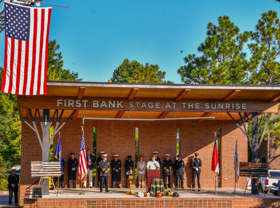 Moore County remembers 9/11 1