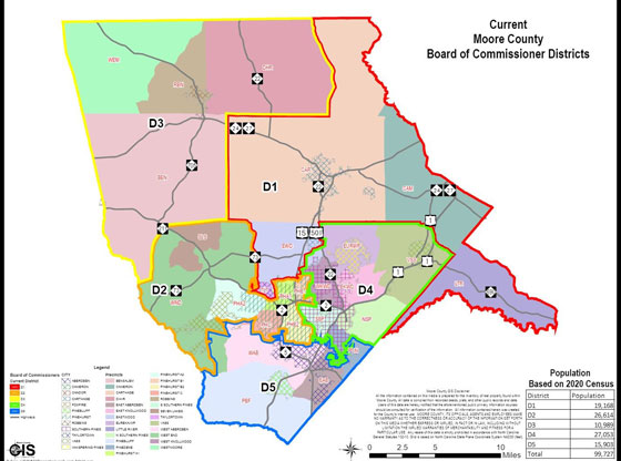 County revises voting districts